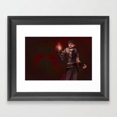 Garrett Hawke Framed Art Print