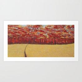 Dreams of Autumn Art Print