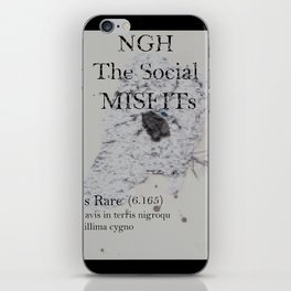 The SocialMisfits // NGH iPhone Skin