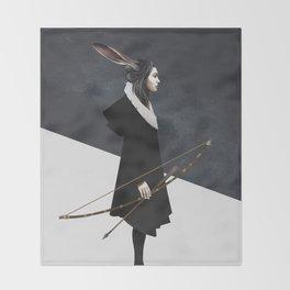 The Hunt Throw Blanket