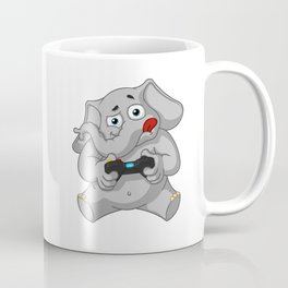 Elephant gamer Coffee Mug