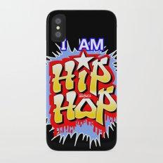 HIP-HOP iPhone X Slim Case