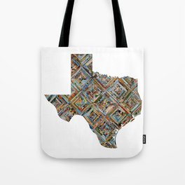 Map of Texas Tote Bag