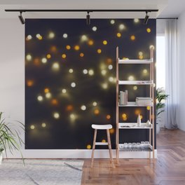 Starry String Lights Wall Mural