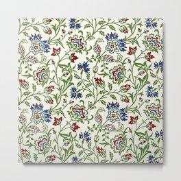 """William Morris """"Brentwood"""" Metal Print"""