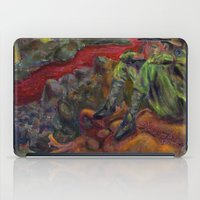 nietzsche iPad Cases featuring and again and again nietzsche by hankhenry
