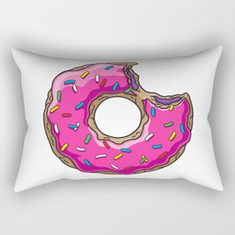 You can't buy happiness, but you can buy DONUTS. Rectangular Pillow