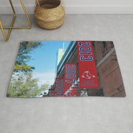 Red Sox - 2013 World Series Champions!  Fenway Park Rug