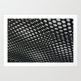 perforation 2 Art Print
