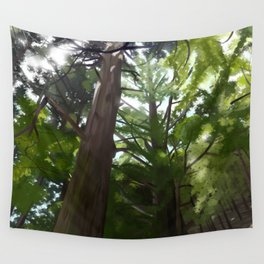 Japanese Forest Wall Tapestry