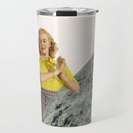 He Gave Her The Moon Travel Mug