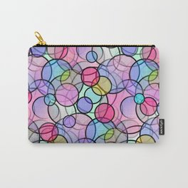 Pastel Circles Carry-All Pouch