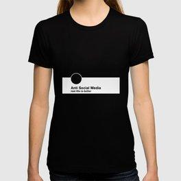 Anti Social Media T-shirt