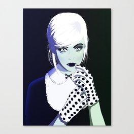 Elle Fanging Canvas Print
