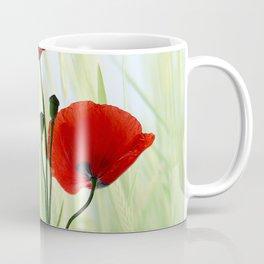 Poppies red 008 Coffee Mug