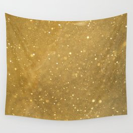 Gold Dust Wall Tapestry