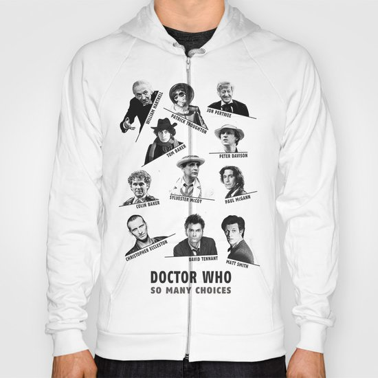 So Many Choices (Doctor Who) Hoody