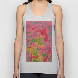 Abstract 138 Unisex Tank Top