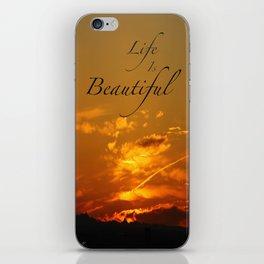 Sunset 2 iPhone Skin