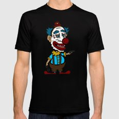 Arm the Clowns, Protect our Children and Gun Sales Mens Fitted Tee Black SMALL