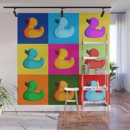 pop art duck Wall Mural