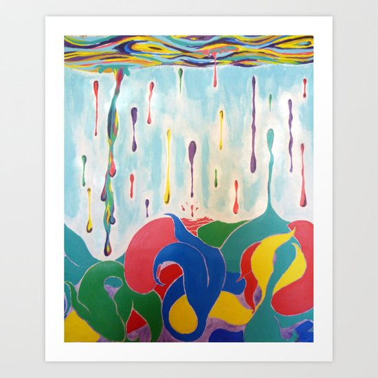 Plenty Of Sea In The Fish Art Print