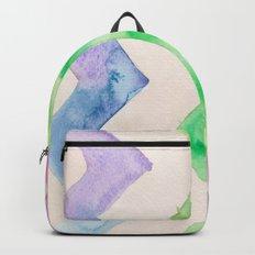 California Style Chevron Backpack
