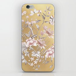 Chinoiserie Gold iPhone Skin