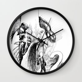 Mirror Las Vegas Wall Clock