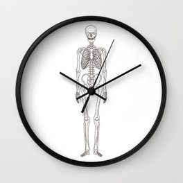 Human body skeleton Wall Clock