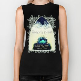 Final Fantasy VII - Sleeping Forest Tourism Tee Biker Tank