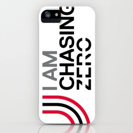 Chasing Zero Iphone Cover iPhone Case