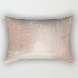 Foggy Autumn Day Rectangular Pillow