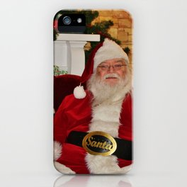 Man In Red Suit iPhone Case