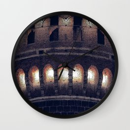 The Castle #2 Wall Clock