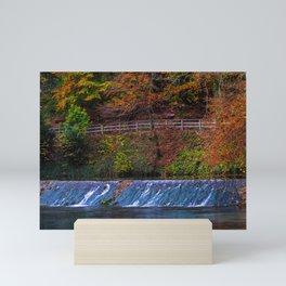 Autumn colors arround the Blautopf Mini Art Print