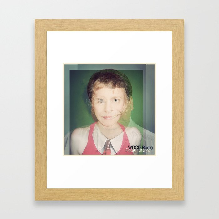 WDCD RADIO : Pockit dOngz Framed Art Print