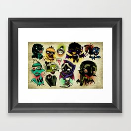 Bloosuckers Framed Art Print