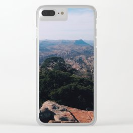 Wichita mountains Clear iPhone Case