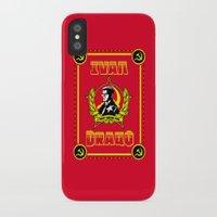 danny ivan iPhone & iPod Cases featuring Ivan Drago by SuperEdu