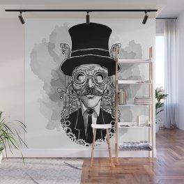 Steampunk Man Wall Mural