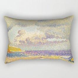 "Henri-Edmond Cross ""Avant L'Orage (La Baigneuse)"" Rectangular Pillow"