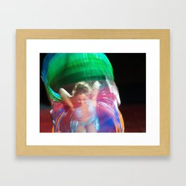 A Circus of Color Framed Art Print