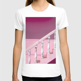 Pink Stairway T-shirt