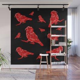 Kea Red Multiple Wall Mural