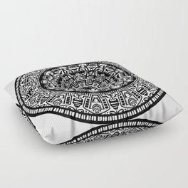 Egyptian Inspired Mandala Floor Pillow