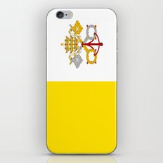 Flag Of Vatican City iPhone & iPod Skin