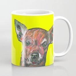 Chihuahua, printed from an original painting by Jiri Bures Coffee Mug