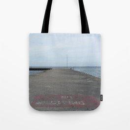 no diving Tote Bag