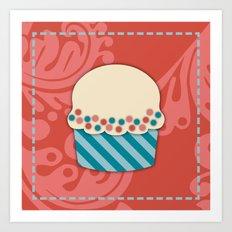 Cupcake 2 Art Print